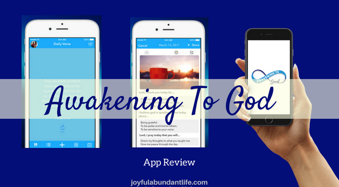 Awakening To God App Review