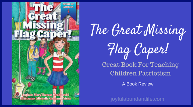 The Great Missing Flag Caper - A Patriotic Book Review for Children
