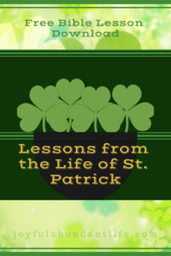 Free Bible Lesson Download on St. Patrick