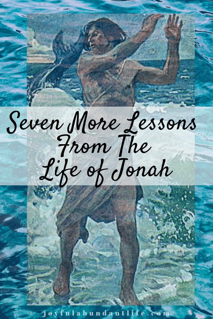 Learning lessons from Jonah's life