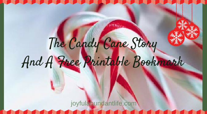 photograph relating to The Story of the Candy Cane Printable named The Sweet Cane Tale and Cost-free Printable Bookmark Happy