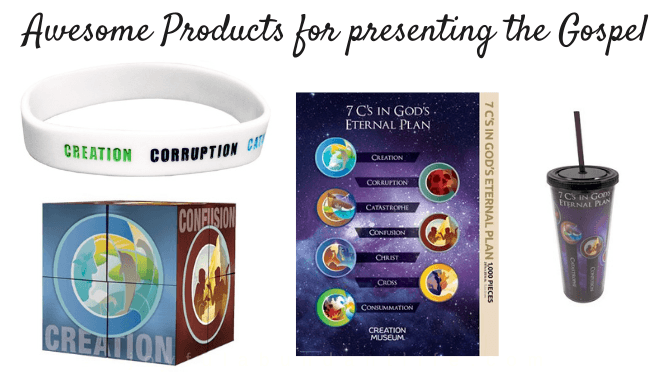 Awesome products to help present the gospel