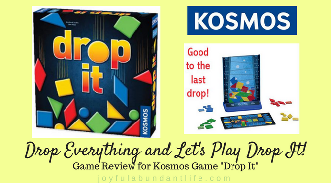 "Drop Everythig and Let's Play Drop It Review for Kosmos Game ""Drop It"""