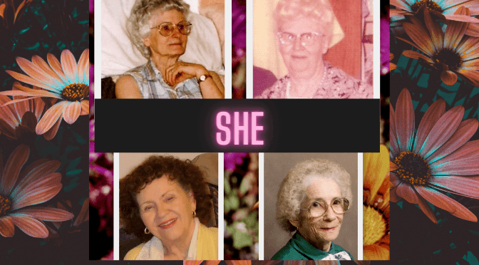 She was and She Is